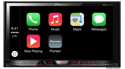 pioneer anuncia la compatibilidad con carplay en cinco de sus dispositivos multimedia
