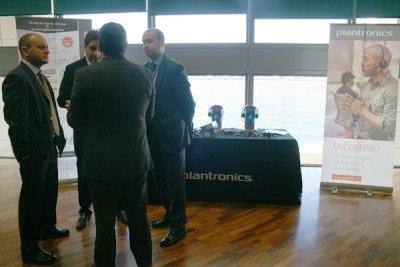 plantronics muestra en barcelona sus ltimas novedades de producto