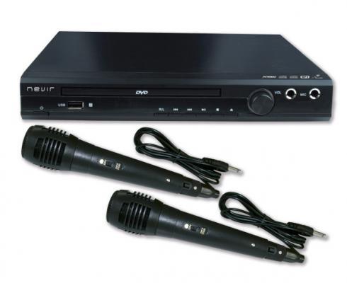 reproductor dvd con karaoke de nevir