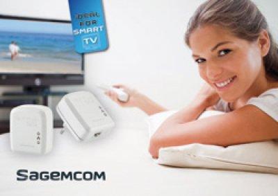 sagemcom presenta su nueva gama de adaptadores plc