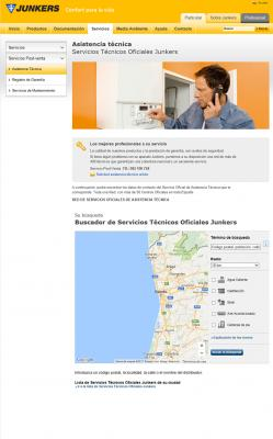 el servico de geolocalizacioacuten de junkers ayuda a buscar el servicio teacutecnico maacutes cercano