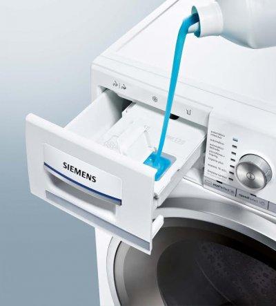 siemens ampla su gama de lavadoras idos con dosificacin automtica de detergente y suavizante