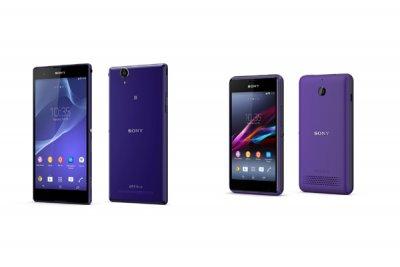 sony desvela el secreto de sus dos nuevos smartphones