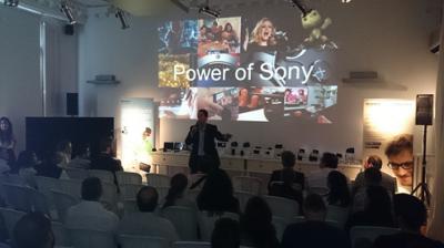 sony presenta sus novedades a los profesionales del canal en una gira por espaa y portugal