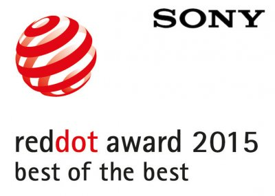 sony recibe 15 premios red dot design