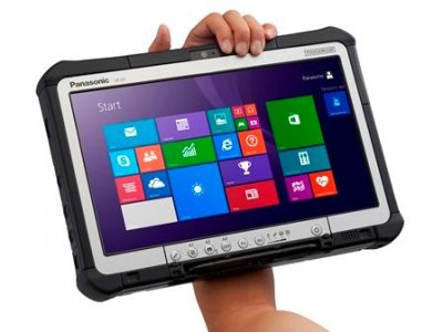 el tablet robusto de panasonic cfd1 se actualiza con windows 81 pro