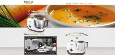 taurus inaugura un site exclusivo para el robot vapore