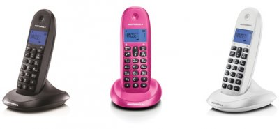 telcom lanza la nueva gama de telefona motorola para el hogar