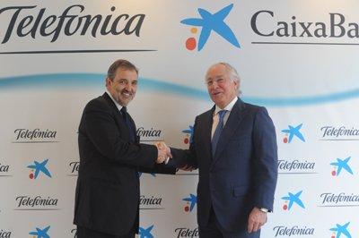 telefnica y caixabank refuerzan su acuerdo de financiacin de dispositivos
