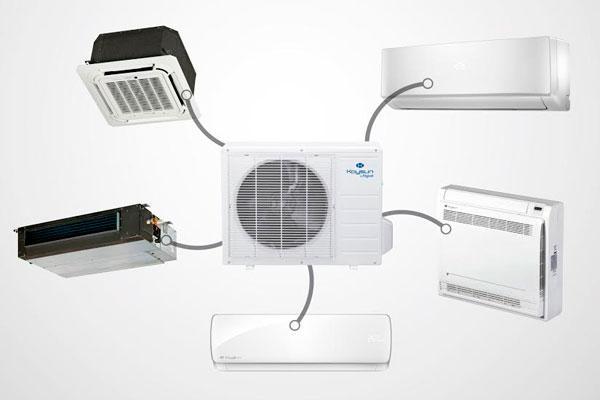 todas las combinaciones posibles para la climatizacioacuten del hogar