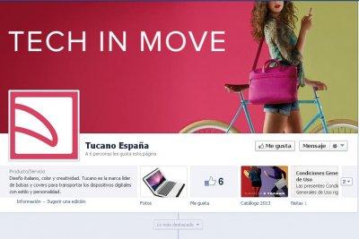 tucano ya est presente en facebook y twitter