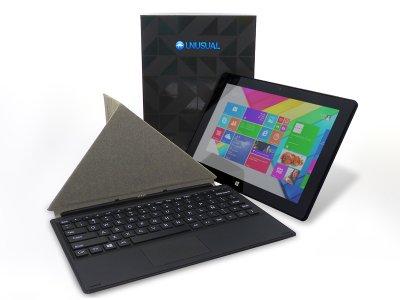 unusual presenta en melco 2014su nueva tablet 2 en 1 unusual 10w