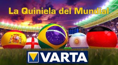 varta lanza el concurso la quiniela del mundial en facebook