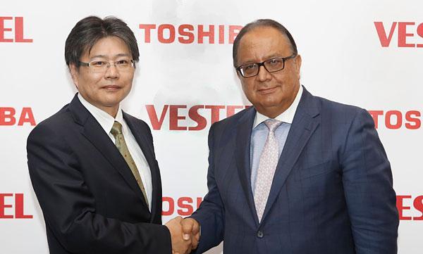 vestel y toshiba sellan un acuerdo para el negocio de la televisioacuten de consumo en europanbsp