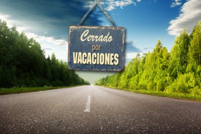 volvemos el 1 de septiembre felices vacaciones