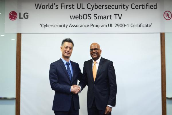 lg webos 35 primera plataforma smart tv certificada por ul en ciberseguridad