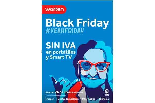 worten celebra el black friday