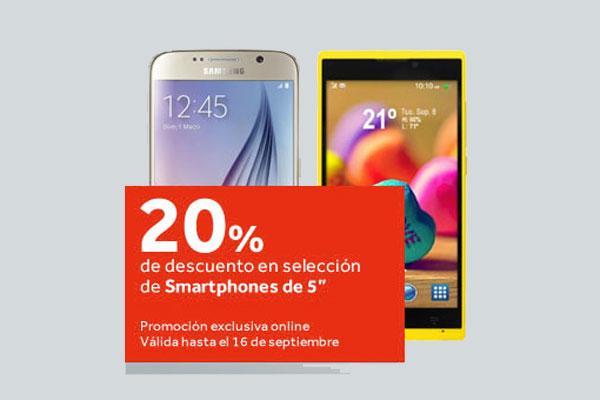 worten ofrece un descuento del 20 en smartphones de 5quot