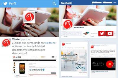 woxter ms cerca de los usuarios con sus nuevos perfiles en facebook twitter y youtube